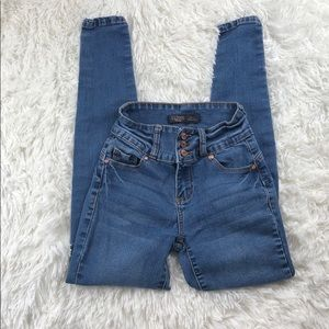 FASHION NOVA High Waisted Skinny Jeans Size 24